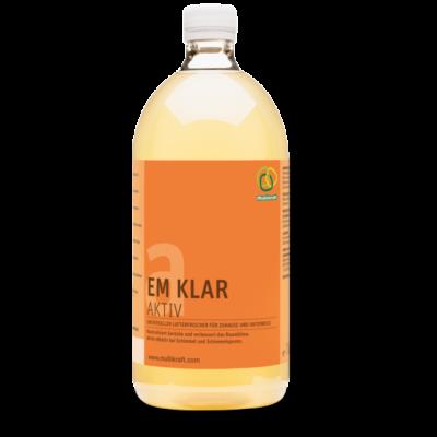 EM Clear Aktív 1L Univerzális légfrissítő - Neutralizálja a szagokat, hatékony a penészesedés megakadályozásában