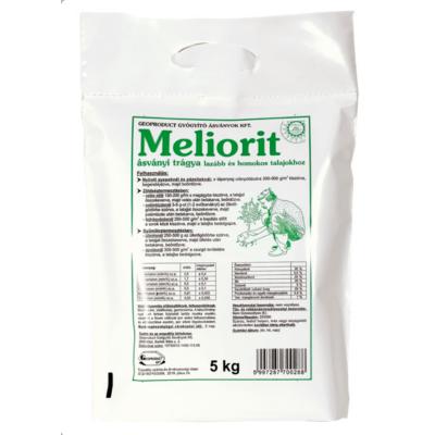 Meliorit I. - ásványi trágya lazább homokos talajhoz, különböző kiszerelésekben