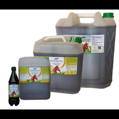 Mikrobiovet kiegészítő takarmány lovak számára különböző kiszerelésekben