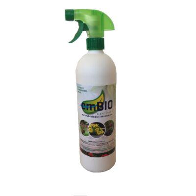 emBIO-SPRAY 5%-os hígítású élő mikroorganikus tápoldat